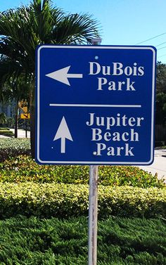 DuBois Park is a Jupiter Florida park that has been around since the early days of Jupiter, FL. It is a local institution.