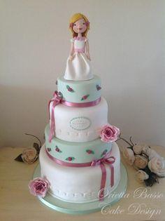 First Communion Sara - Cake by Orietta Basso