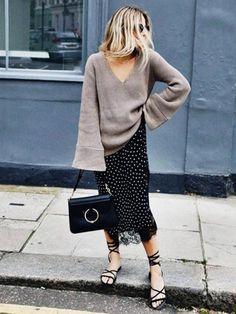 Με τους κατάλληλους συνδυασμούς δε θα αποχωριστείτε το αγαπημένο σας lingerie φόρεμα ούτε το χειμώνα.