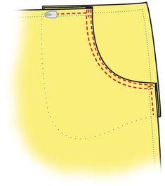 Katso kuvitetut ohjeet taskun ompeluun. Hermes, Sewing, Knitting, Handmade, Bags, Fashion, Handbags, Moda, Dressmaking