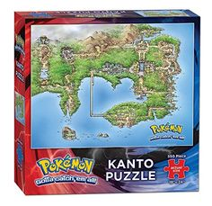 USAopoly Pok�mon Kanto Puzzle (550 Piece) � The Toy Shop