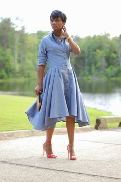 Image of YASSS DENIM DRESS 59.00