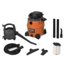RIDGID, 16-Gal. Wet/Dry Vac with Blower, WD1680 at The Home Depot - Mobile