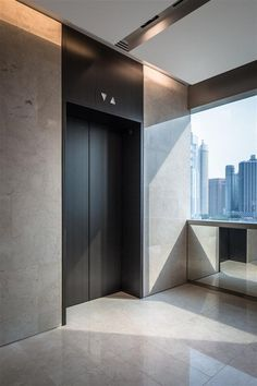 Lift Lobby at China Square Central, Singapore by DP Design: