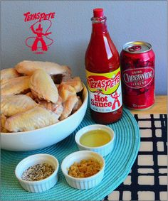 Texas Pete Original Cheerwine Chicken Wings  http://www.thinglink.com/scene/483408095284822016