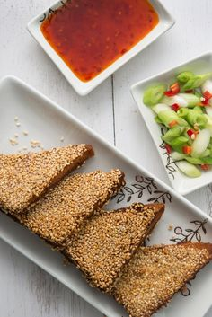 Discover how to make that classic Chinese takeaway dish, sesame prawn toast, at home with this delicious recipe.