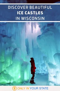 Enjoy family-friendly winter fun at the Lake Geneva Ice Palace in Wisconsin! You'll find frozen castles, unique ice sculptures, icy slides, and more. It's great for kids, adults, and date night! Places To Travel, Travel Destinations, Places To Visit, Winter Fun, Winter Travel, Vacation Spots, Vacation Ideas, California Location, Vacations In The Us