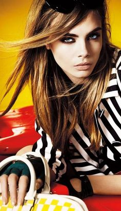 Cara Delevingne ♥d by Mario Testino for the March 2013 issue.