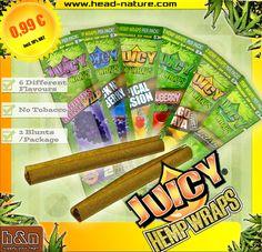 http://www.head-shop.eu/tree/3373/Juicy-Jays-Blunts/  Fresh, fresh, fresh: Juciy Jays #Hemp #wraps  ♛ 100 % tobacco free ♛ Aroma Safe Packaging ♛ 2 PER PACK