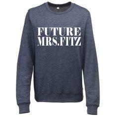 Pretty Little Liars Future Mrs. Fitz PLL by universalwear on Etsy