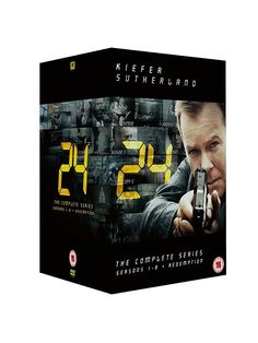24 - Season 1-8 Complete And Redemption - DVD Boxset | TV Series | ASDA direct