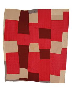 Pieced Quilt, 1950-1955 |  The Henry Ford Pieced Quilt, 1950-1955  THF73619 Beautiful, well-designed compositions like this one emerged despite the challenges of planning a quilt in a small rural home. Rural quilters like Susana Hunter would not have had the space to easily view their designs as a whole as they were laying out the pieces.