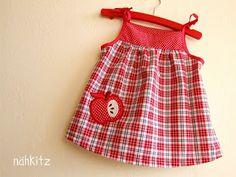 ZWergenverpackung dress by Nähkitz, #farbenmix #zwergenverpackung #baby #sewing #handmade