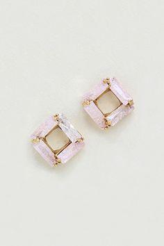 Taylor Earrings in Sugared Aspen//