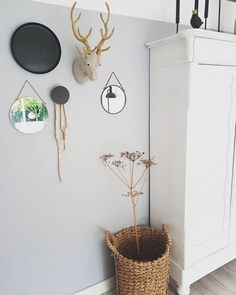 #kwantuminhuis Wanddecoratie HERT > https://www.kwantum.nl/wonen/wanddecoratie @angela_banken_