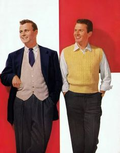 Steward: 1940's Men's Fashion. Man on the left. Coat with vest and tie. not as well dresses as the Prince, but better dressed that the Baker.