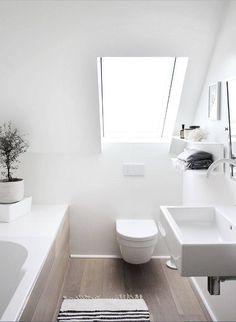 Die 63 besten Bilder zu Kleine Bäder mit Dachschräge | Bad ...