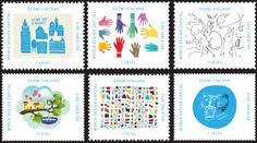Helsinki World Design Capital 2012 Stamps