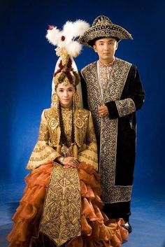 Kazakhstan - Bride and Groom