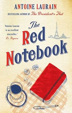 The Red Notebook ~ 1 of 9 books saluting the Red, White, and Blue on the Fourth of July 2017
