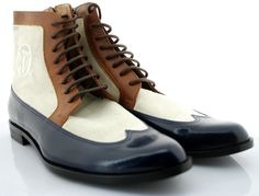 Oscar William Manchester Series Three Tone Business Boots