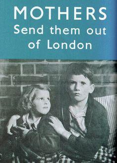 World War 2 evacuation poster