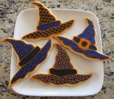 halloween sugar cookies decorating ideas | Chloe's Inspiration ~ Halloween Cookies | Celebrate and Decorate
