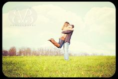 www.BaileyandBphotography.com One of my favorite engagement photos I've ever taken. The colors, the scene, them!