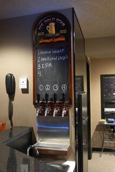 Homebrewing bar home brewing equipment Make Beer At Home, How To Make Beer, Home Brewery, Home Brewing Beer, Brewing Supplies, Beer Making Kits, Home Brewing Equipment, Beer Store, Brew Pub