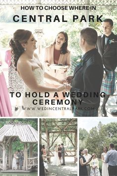How to Choose Where in Central Park to get Married / hold your Wedding Ceremony - Tips and Advice from a Central Park Wedding Planner