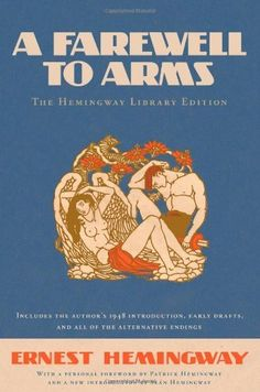 A Farewell to Arms: The Hemingway Library Edition by Ernest Hemingway, http://www.amazon.com/dp/1451658168/ref=cm_sw_r_pi_dp_hWakqb0TT4081