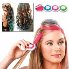 Temporary Hair Chalk Hair Color Easy to Wash