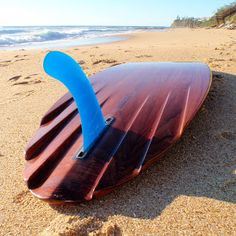 Jason Oliver Wooden Surfboards: 6 Channel re-cycled Red Cedar single fin