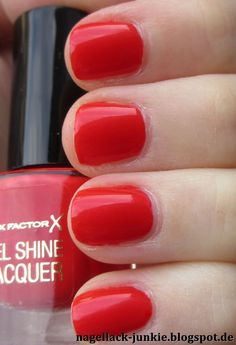 Nagellack-Junkie: Max Factor Patent Poppy