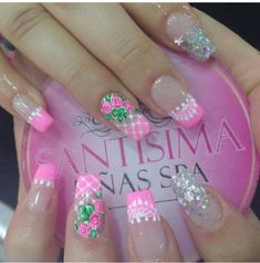 Cute Nail Art, Cute Nails, Spring Nails, Summer Nails, Jelly Nails, Simple Nails, Wedding Nails, Beauty Nails, Manicure