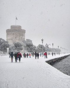 Thessaloniki, Greece, Profile, Snow, Photo And Video, Travel, Outdoor, Instagram, Videos