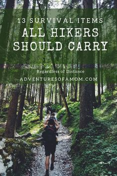 should always be prepared for the worst during your hikes. Here is a list of survival items all hikers should carry regardless of distance. camping and hiking Survival Gear all Hikers Should Carry Camping And Hiking, Thru Hiking, Backpacking Tips, Hiking Tips, Outdoor Camping, Outdoor Travel, Camping Ideas, Hiking The Appalachian Trail, Pct Trail