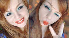 Mermaid Makeup: Delineado Sereia para o Carnaval