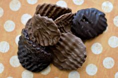 chocolate covered potato chips.  I think we have a teen winner here.  Melt de chocolate and dip.