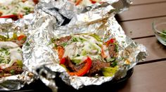 Philly Chesesteaks foil packets