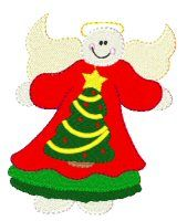 This adorable chunny snow angels are so much fun and will be great for christmas projects.