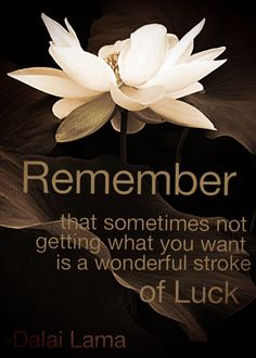 Dalai Lama quote about luck! This is so true! Great Quotes, Quotes To Live By, Me Quotes, Funny Quotes, Inspirational Quotes, Mystic Quotes, Wisdom Quotes, Motivational Quotes, Positive Words