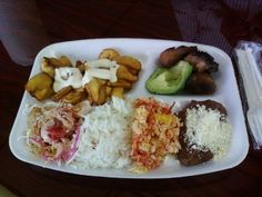 This is our Tipical Food ! Hummmm Honduras. - Kathy From Honduras - http://www.KathyFromHonduras.com