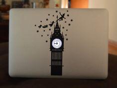 Peter Pan Macbook Sticker