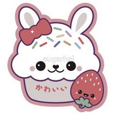 Cute Bunny Cake by sugarhai