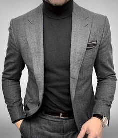 Source by outfits for guys - Source by outfit. - Source by outfits for guys – Source by outfits for guys Source by AAprilColeMode – Source by NancyTimothyClothes - Grey Suit Men, Stylish Mens Outfits, Winter Mode, Mens Fashion Suits, Men Style Tips, Well Dressed Men, Gentleman Style, Looks Style, Mens Clothing Styles