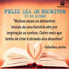 Dia do Escritor: Parabéns aos Corajosos Contadores de Histórias   Blog do Ben Oliveira