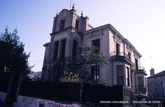 Edificio de la Plaza San Nicolás, años 80 (Colección Joseba Geijo) (ref. JG223)