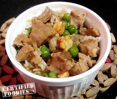 Recipe for Cebu Style Steamed Rice Rice Toppings Recipe, Rice Recipes, Healthy Recipes, Easy Recipes, Filipino Recipes, Asian Recipes, Ethnic Recipes, Filipino Food, Filipino Dishes