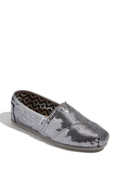 TOMS 'Classic Sequins' Slip-On (Women) | Nordstrom - Maybe I'll just go with the more traditional sequin